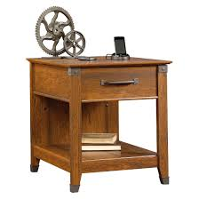 Desk With Charging Station Carson Forge Smartcenter Side Table With Charging Station
