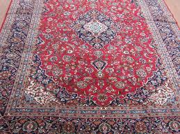 Antique Persian Rugs by Semi Antique Kashan Persian Carpet Shab Antiques
