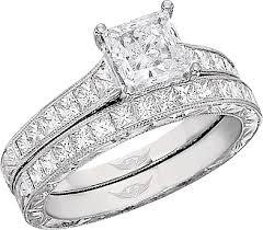 princess cut gold engagement rings flyerfit princess cut channel set vintage engagement ring w