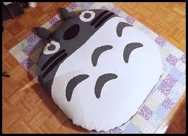 Bean Bag Chair With Ottoman Totoro Bed Bean Bag Chair Floor Cushion Cover