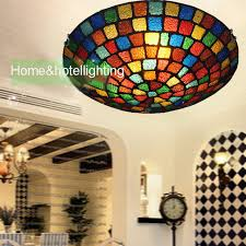 Stained Glass Ceiling Light Traditional Ceiling Lights Style Stained Glass Ceiling
