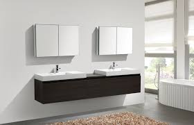 4 Bathroom Vanity Aquamoon Venice 98 1 4 Grey Oak Infinity Sinks Modern