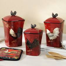 canisters kitchen decor rooster kitchen decor canisters randy gregory design popular