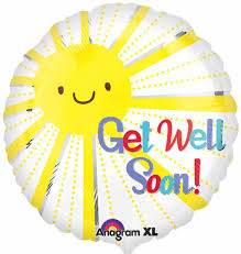 balloons same day delivery get well get well soon mylar balloon columbus oh florist