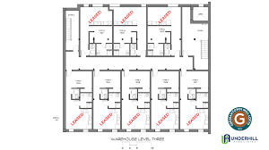 Caboose Floor Plans Germantown Mill Lofts The Warehouse Building Third Floor