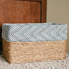 Decorative Cardboard Storage Boxes Home Organization Make Your Own Basket Out Of A Box
