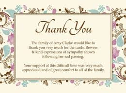 thank you cards for funeral sympathy thank you cards