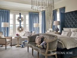 Lavender Living Room Holiday Home Shimmering In Blue And Lavender Traditional Home