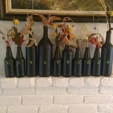how to decorate a wine bottle for a gift diy thanksgiving wine bottle decor hometalk