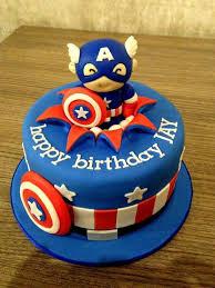 best avengers birthday cake
