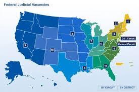 federal circuit court map judicial diversity acs