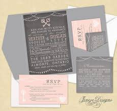 wedding invitations ottawa best 25 grey wedding invitation sets ideas on