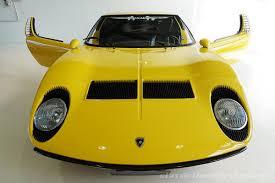 lamborghini miura 1968 lamborghini miura p400 classic throttle shop