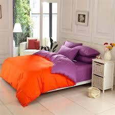 Burnt Orange Comforter King Best 25 Orange Bed Linen Ideas On Pinterest Orange Bed Sets