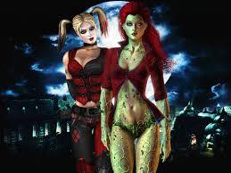 harley quinn arkham city halloween costume femme fatale noirwhale page 4 poison ivy pinterest