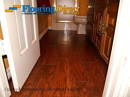 wood look tiles bathroom wood look tile safe for the bathroom installed by flooring direct