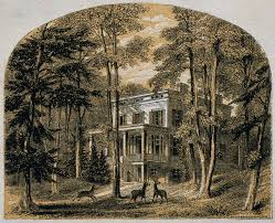 file john james audubon his house colour line block by richards