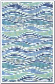 Blue Wave Rug Ocean Wave Area Rug Rugs Home Decorating Ideas Vgwembmwvm