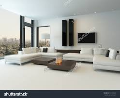 Gloss White Living Room Furniture Livingroom Exciting Contemporary White Living Room Design Ideas