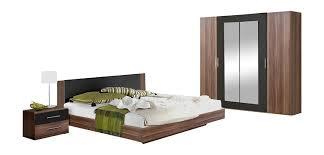 Schlafzimmer Bett Nussbaum Wimex 937129 Schlafzimmer Nora Set Bestehend Aus Bett 160 X 200 Cm
