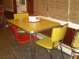 retro yellow kitchen table yellow retro kitchen chairs diner chair yellow retro kitchen table