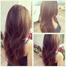 back of long haircuts cut the back of long hair in a u shape v