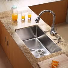 Stainless Steel Undermount Sink Stainless Steel Kitchen Sink Combination Kraususa Com