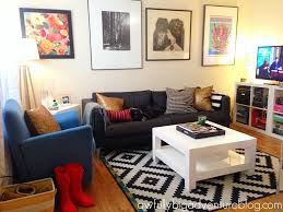the tiny apartment house tour living room u2013 awfully big adventure