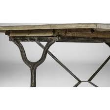 Drop Leaf Oak Table Darryl Rustic Cast Iron Oak Drop Leaf Table Kathy Kuo Home
