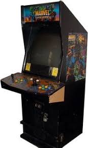 Super Cabinet Marvel Super Heroes Videogame By Capcom