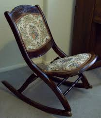 Folding Rocking Chair Antique Folding Nursing Rocking Chair Home Chair Decoration