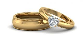 wedding rings for couples gold wedding rings for couples wedding promise diamond