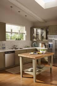 kitchen island white ceramic tile countertops white kitchen island with butcher block