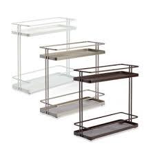 2 tier cabinet organizer org 2 tier cabinet organizer bedbathandbeyond com kitchen