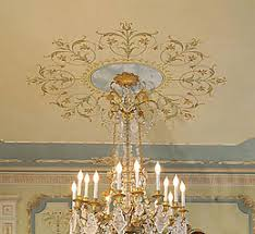 What Size Ceiling Medallion For Chandelier Ceiling Stencils Large Medallion Stencils For Walls And Ceilings