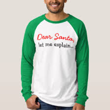 dear santa t shirts u0026 shirt designs zazzle