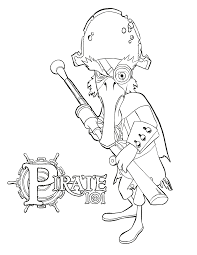 printable pirate coloring pages