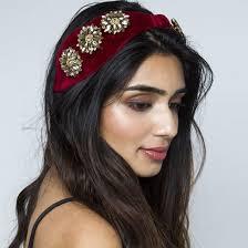 knot headband rosie embellished knot headband