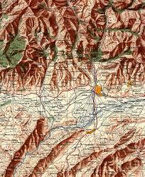 Tajikistan Map Stalinabad 56 Jpg