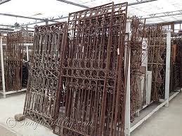 antique metal gates wrought iron garden gates for home outdoor
