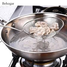 tamis fin cuisine behogar 15 cm diamètre tamis tamis à mailles fines en acier