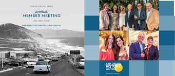 san diego thanksgiving events annual member meeting san diego history center san diego ca