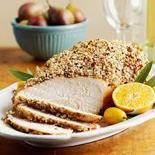 crusted turkey breast