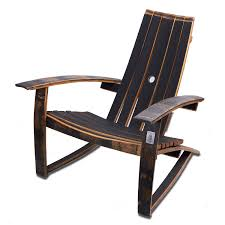 whiskey barrel adirondack chair closed top wine enthusiast