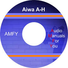 aiwa audio service manuals owners manuals and schematics on 2 dvd