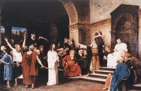 imagenes de jesus ante pilato jesús ante pilatos amor de la verdad