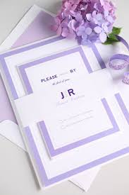 modern wedding invitations wedding ideas modern wedding invitations in purple weddings
