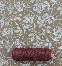 Where Can I Buy Home Decor Sea Rose Patterned Paint Roller From Notwallpaper Diy Home