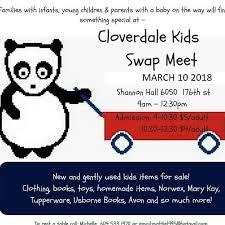 Cloverdale Kids Swap Meet at Kids Swap Meets Cloverdale