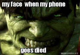 Phone Died Meme - phone died meme 28 images spock phone imgflip image tagged in